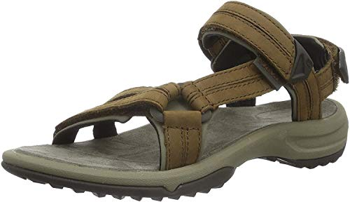 Teva Terra Fi Lite Leather W's Damen Sport- & Outdoor Sandalen, Braun (brown 556), EU 37 von Teva