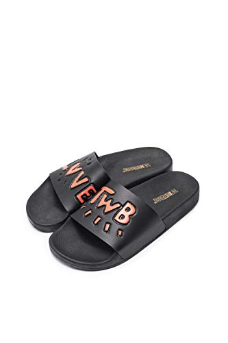 The White Brand Damen Love Twb 3D Peeptoe Sandalen, Mehrfarbig (Black Red Black Red), 37 EU von The White Brand