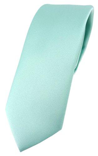 Einstecktuch grün flaschengrün uni Binder schmale TigerTie Schlips Krawatte
