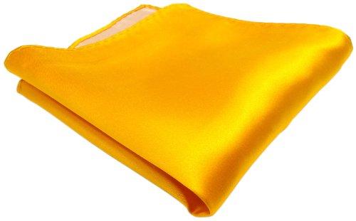 Tuch 100/% Polyester sch/önes TigerTie Einstecktuch gelb blassgelb einfarbig