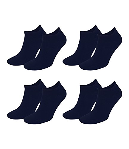 TOMMY HILFIGER Herren Flag Casual Business Sneaker Socken 4er Pack (Dark Navy, 39-42) von Tommy Hilfiger