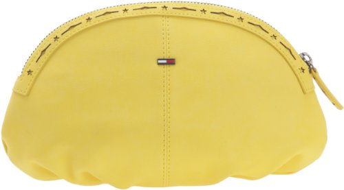 Hilfiger Denim Romy Make UP CASE EL56919171, Damen Kosmetiktäschchen, Gelb (SUPER Lemon 779), 24x16x2 cm (B x H x T) von Tommy Jeans