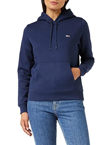 Tommy Jeans Damen TJW Regular Fleece Hoodie Pullover, Marineblau (Twilight Navy), M von Tommy Jeans