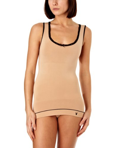 Triumph Damen Unterhemd, Smooth Sensation Shirt 02 , Gr. 36, Mehrfarbig (BROWN - LIGHT COMBINATION) von Triumph