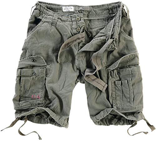 Trooper Airborne Shorts Lightning Edition Olive - XXL von Trooper