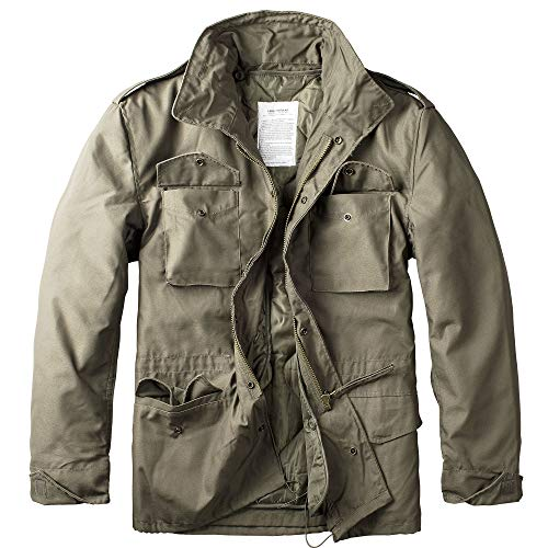 Trooper M65 Feldjacke, oliv, Size 5XL von Trooper