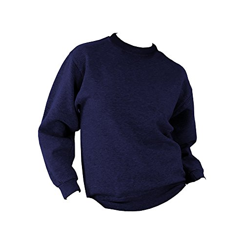 UCC 50/50 Pullover / Sweatshirt, unifarben (5XL) (Marineblau) von Ultimate Clothing Collection