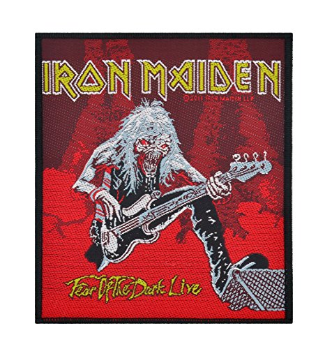 IRON MAIDEN     FEAR OF THE DARK LIVE   Patch von Unbekannt