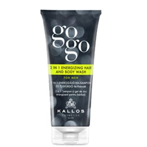 KALLOS COSMETICS KJMN GoGo Men 2in1 Energizing Hair & Body Wash 200 ml von Unbekannt