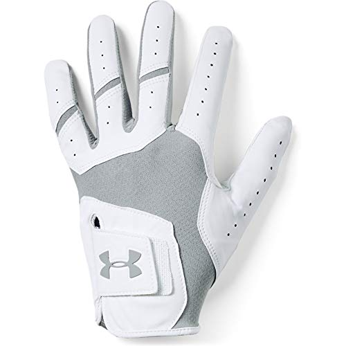 Under Armour Herren Tour Cool Golf Gants Handschuhe, Grau (Steel), (Herstellergröße: Lsm) von Under Armour
