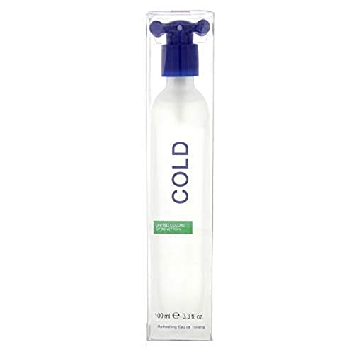 Benetton Benetton Cold Eau de Toilette 100 ml Spray für Ihn – New Edition von United Colors of Benetton