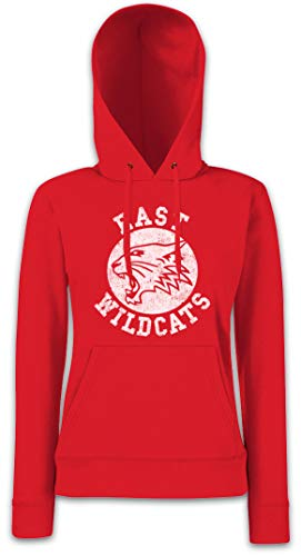 Urban Backwoods East Wildcats Damen Kapuzenpullover Hoodie XS - 2XL von Urban Backwoods