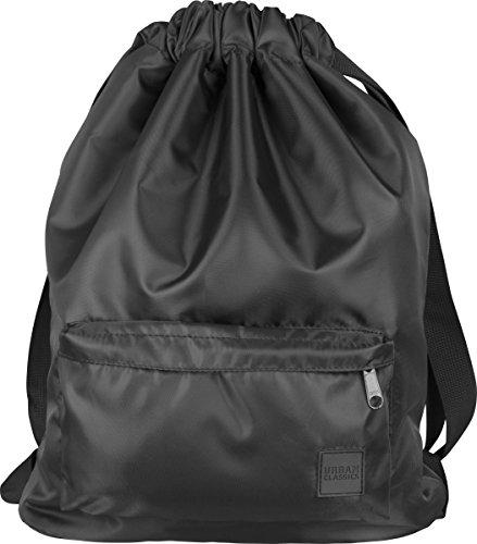 Urban Classics Pocket Gym Bag Turnbeutel, 43 cm, Black von Urban Classics