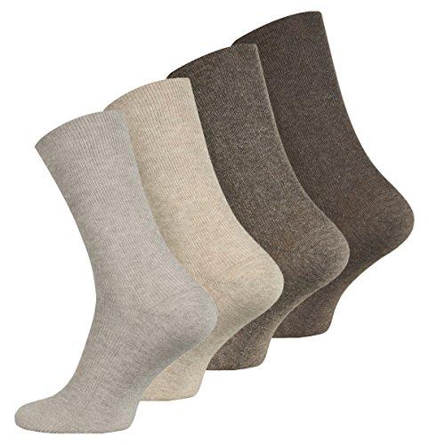 2 Paar original Puma Casual Herren Socken, dunkelbraun