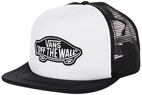 Vans Herren Classic Patch Trucker Baseball Cap, Weiß (WHITE-BLACK YB2), One Size von Vans