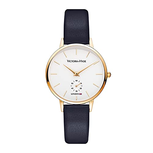 Damen Blau Von Für Victoria Uhren Hyde In HED9e2IYW