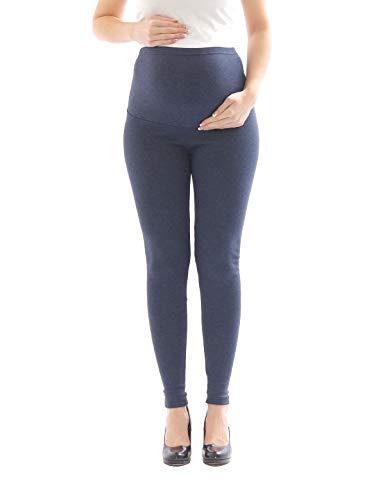 YESET Umstandsjeans Jeans Umstand Hose Jeanshose lang Stretch Bauch Jeans 38