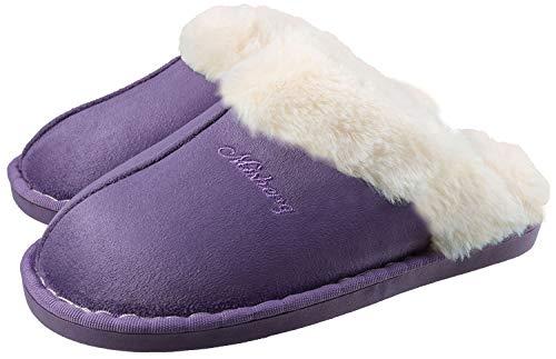 ChayChax Weiche Pantoffeln Hausschuhe Slip On Bequeme Haus Pantoletten Mules rutschfest Slipper Indoor Outdoor f/ür Damen Herren