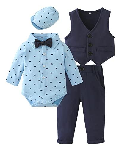 Baby Body Anzug Smoking Fliege Hemd Krawatte Shirts Multi Moonworks®