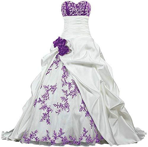 Brautkleider von Zorayi in Lila für Damen