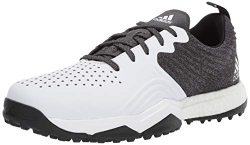 adidas Men's Adipower 4ORGED S Golf Shoe, core Black/FTWR White/Silver Metallic, 12 M US von adidas
