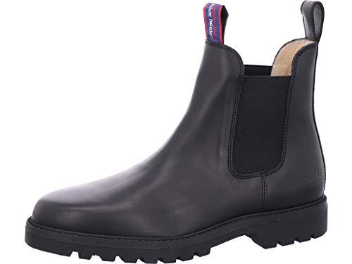 blue heeler Jackaroo Chelsea Boot Black - Noir - Noir, 44 EU