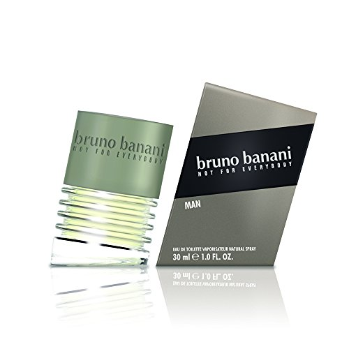 bruno banani Man – Eau de Toilette Natural Spray – Herb-aromatisches Herren Parfüm – 1 er Pack (1 x 30ml) von bruno banani