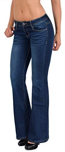 5382a3ed8788 Boot Cut Jeans in speziellen Farben für Frauen. Damenmode in ...