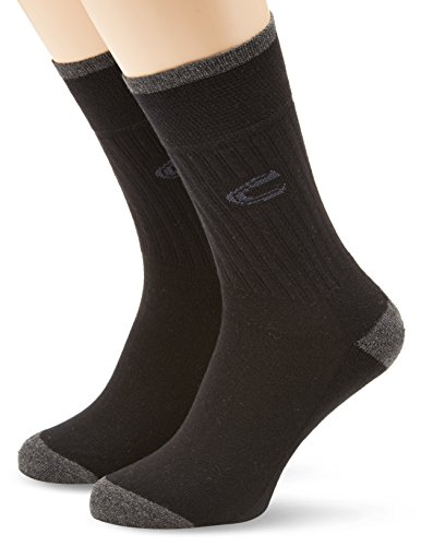 """camel active Herren Socken 2 er Pack 6510 / camel active sportsocks 2 pack, Gr. 43-46, Schwarz (black 610)"" von camel active"