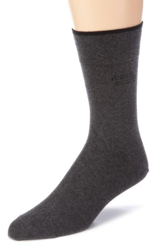 """camel active Herren Socken 2 er Pack 6590 / camel active cotton basic 2 pack, Gr. 43-46, Grau (anthracite mottled 620)"" von camel active"