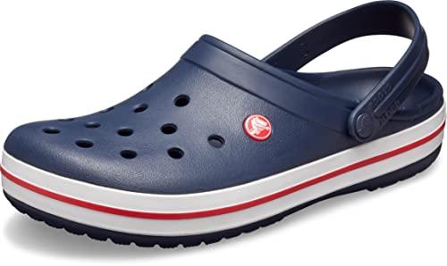 Classic Turbo Strap Clog, Unisex-Erwachsene Clogs, Blau (Navy), 37/38 EU (5 Erwachsene UK) Crocs