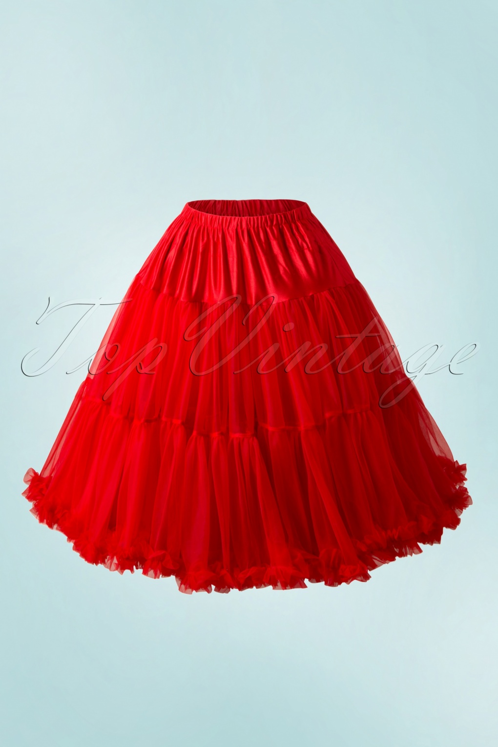 50s Lola Lifeforms Petticoat in Red von Banned Retro