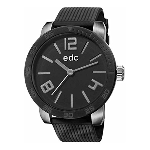 edc by Esprit Herren-Armbanduhr XL Bold Maverick Analog Quarz Resin EE101191004 von edc by ESPRIT