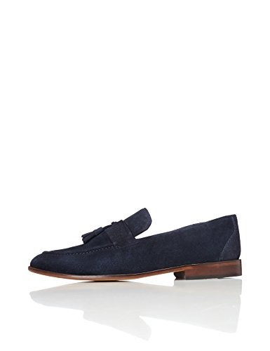 find. Andrews, Herren Loafers, Blau (Navy), 45 EU (10.5 UK) von find.