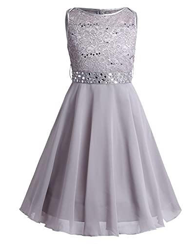 Kleid grau 122