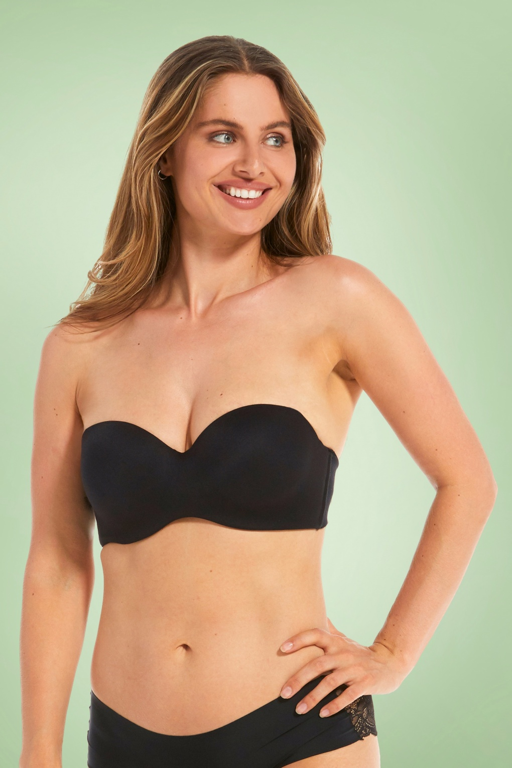Luxury Strapless Bra in Black von magic bodyfashion