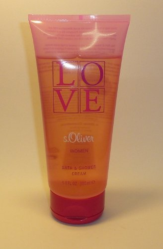 S.Oliver LOVE Women 200 ml Bath and Shower Cream Duschgel Gel