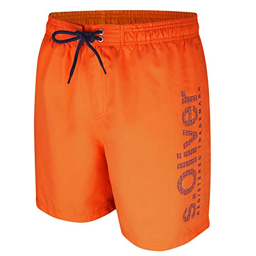 s.Oliver RED LABEL Herren Badeshorts Neonorange M von s.Oliver RED LABEL