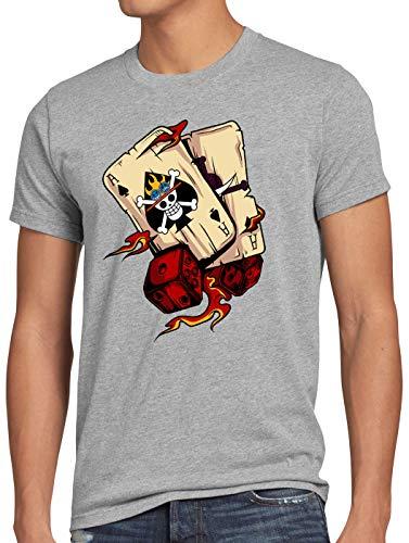 style3 Pixel Luffy Herren Tank Top Piece Strohhut Pirat one