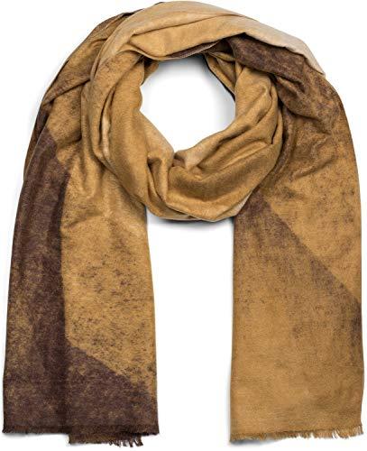 styleBREAKER Damen Strick Baskenmütze mit Zopfmuster, Winter, Barett, Franzosenmütze 04024166, Farbe:Senf