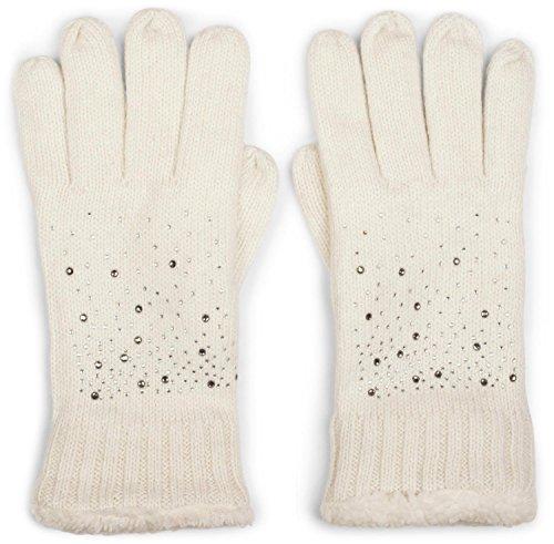 Handschuhe in Beige für Frauen. Damenmode in Beige bei