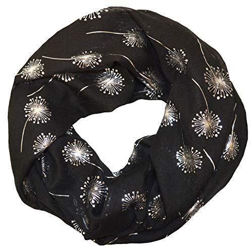 845cf087a08b37 thb Richter Loopschal Rundschal mit Pusteblume Muster Schlauchschal Schals  Halstuch Loop Natur Pusteblumen Blumen Print Aufdruck