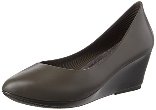 walk&rest Damen Wedge Geschlossene Ballerinas, Schwarz (Anthrazit), 36 EU von walk&rest