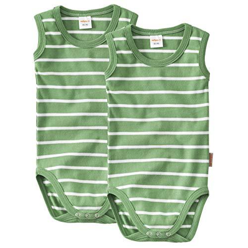 wellyou Baby und Kinder Babybody ohne Arm m/ädchen und Junge aus 100/% Baumwolle in wei/ß